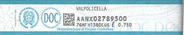 An example of a DOC label